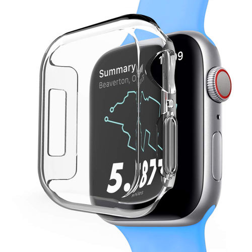 2x Clear Screen Protector Guard Case for Apple Watch 44mm Series 4